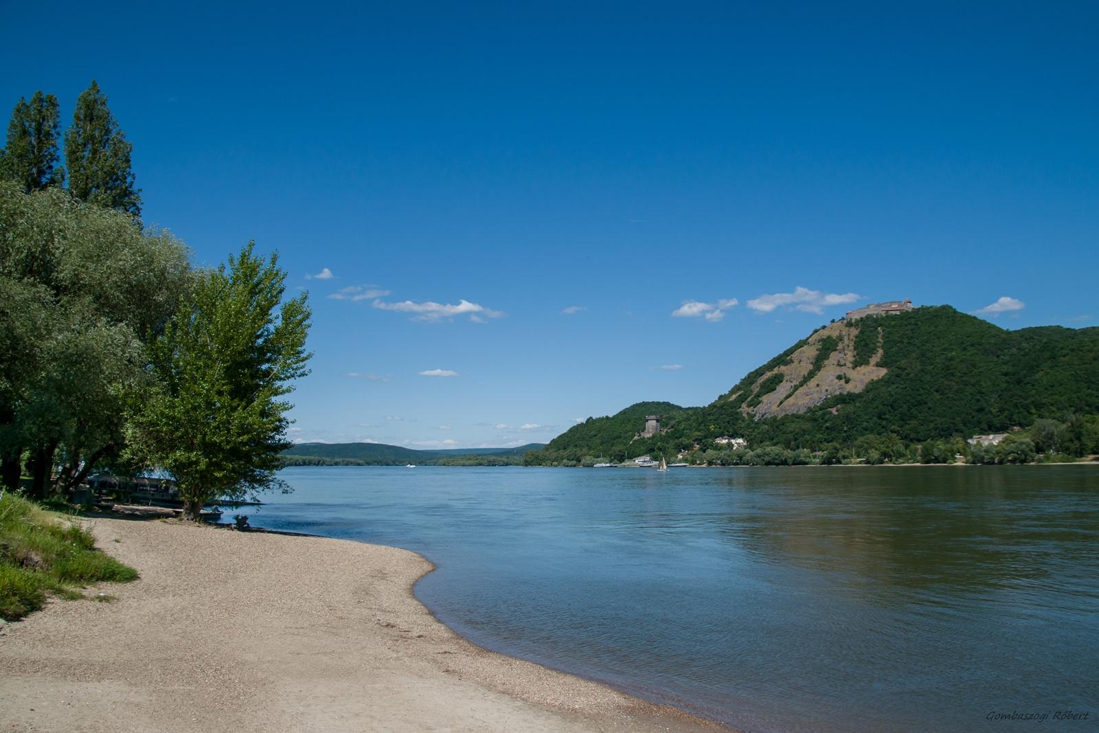 A Duna Visegrádnál