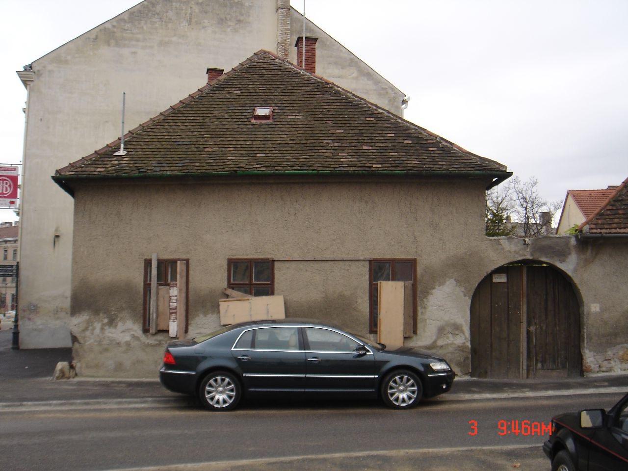 Sopron, Ógabona tér 48. ház kb. 2005-ben