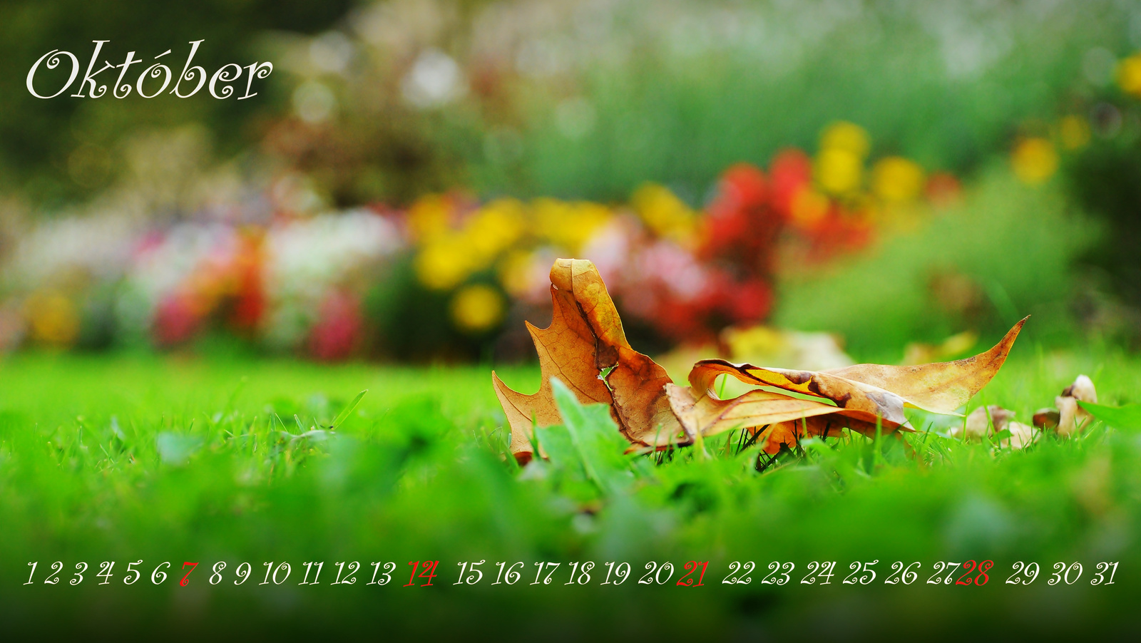 Október