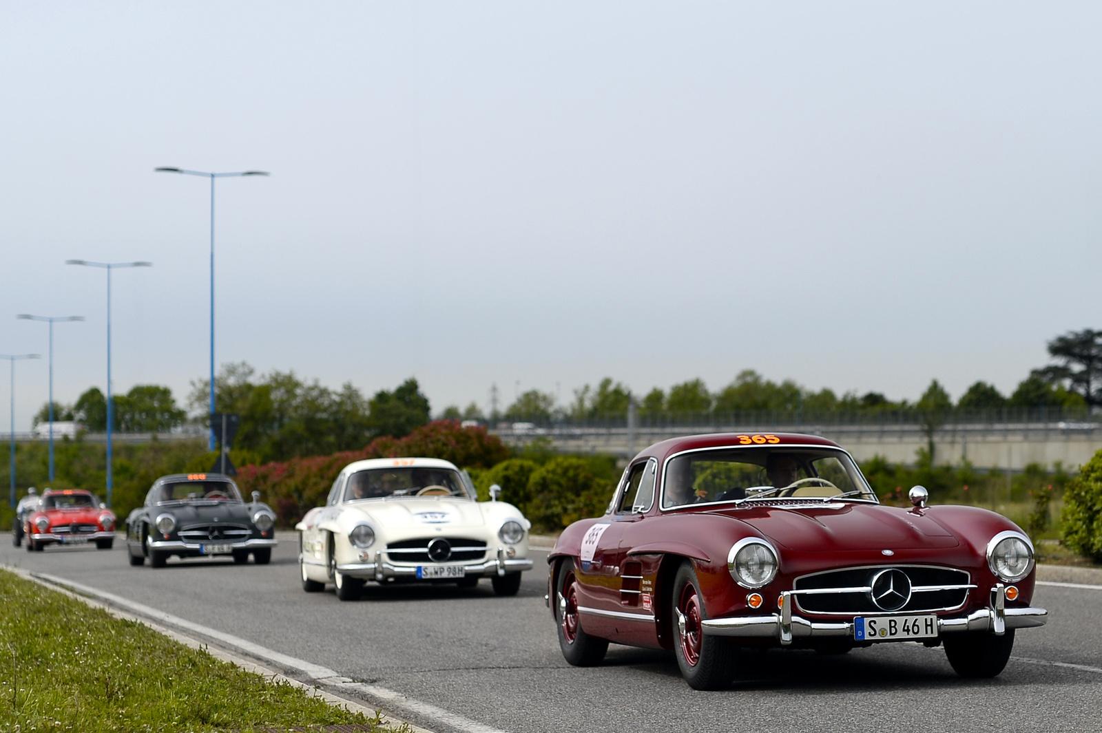 4X Mercedes 300 SL