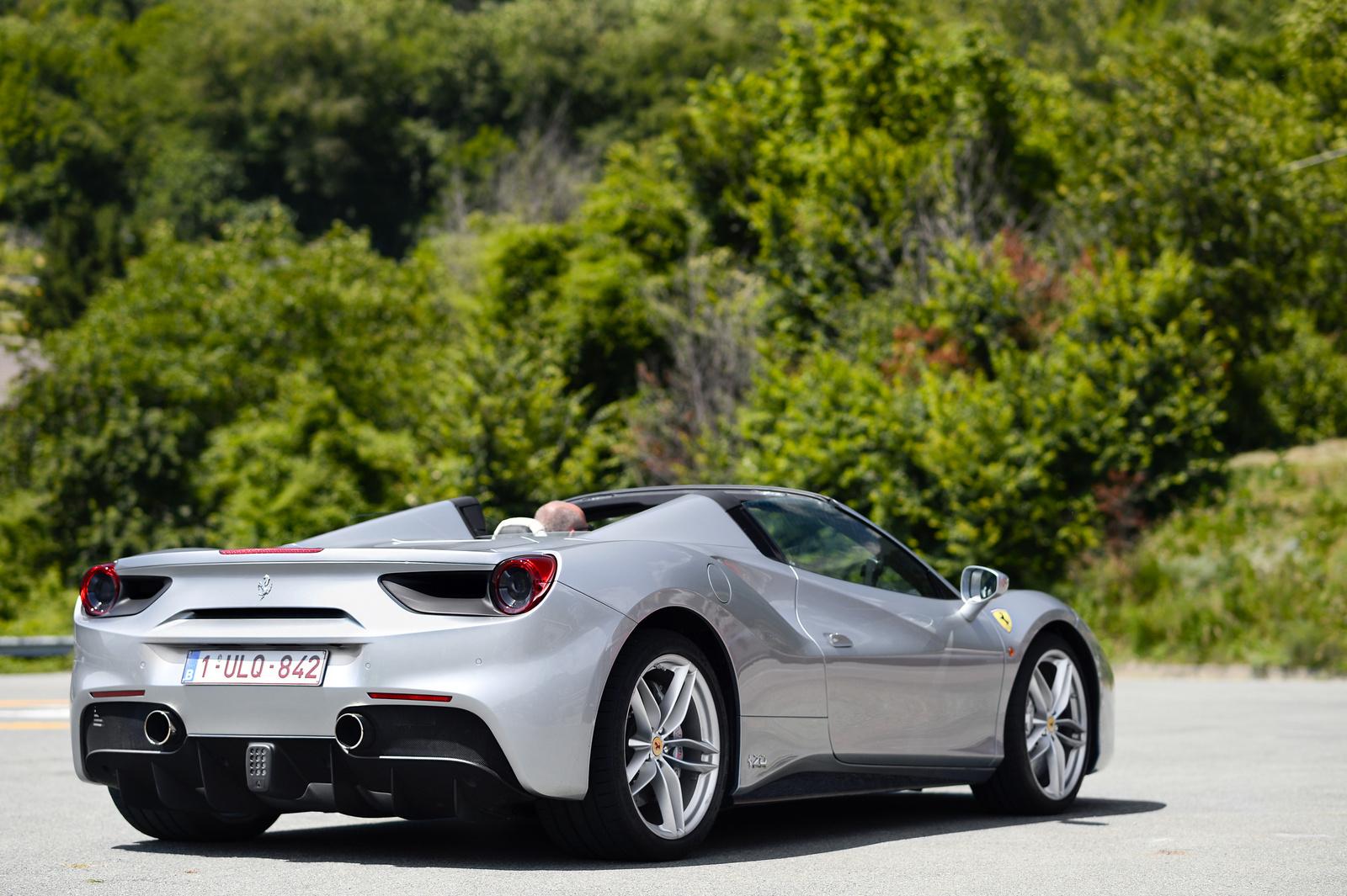 Ferrari 488 Spider 70th