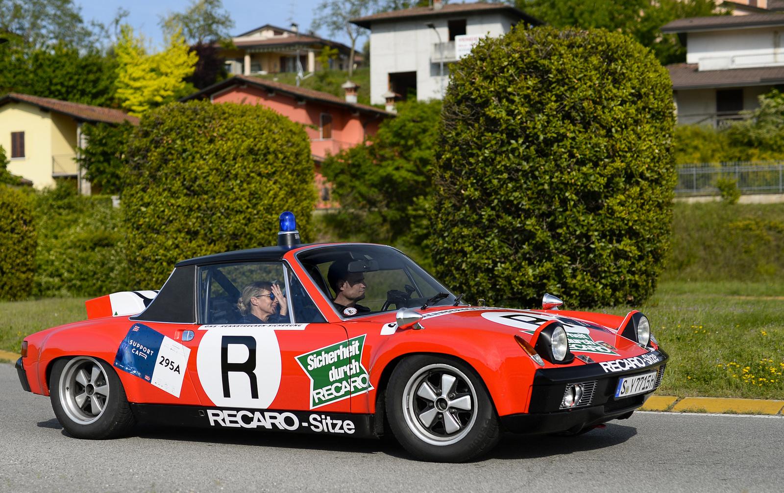 Porsche 914/6 GT - Safety Car