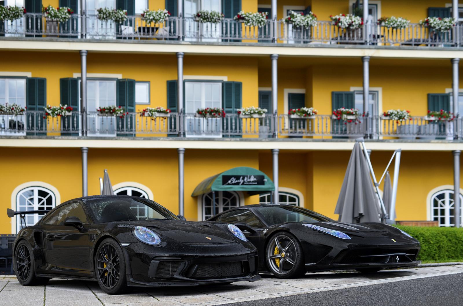 Porsche 911 GT3 RS MKII - Ferrari 458 Speciale