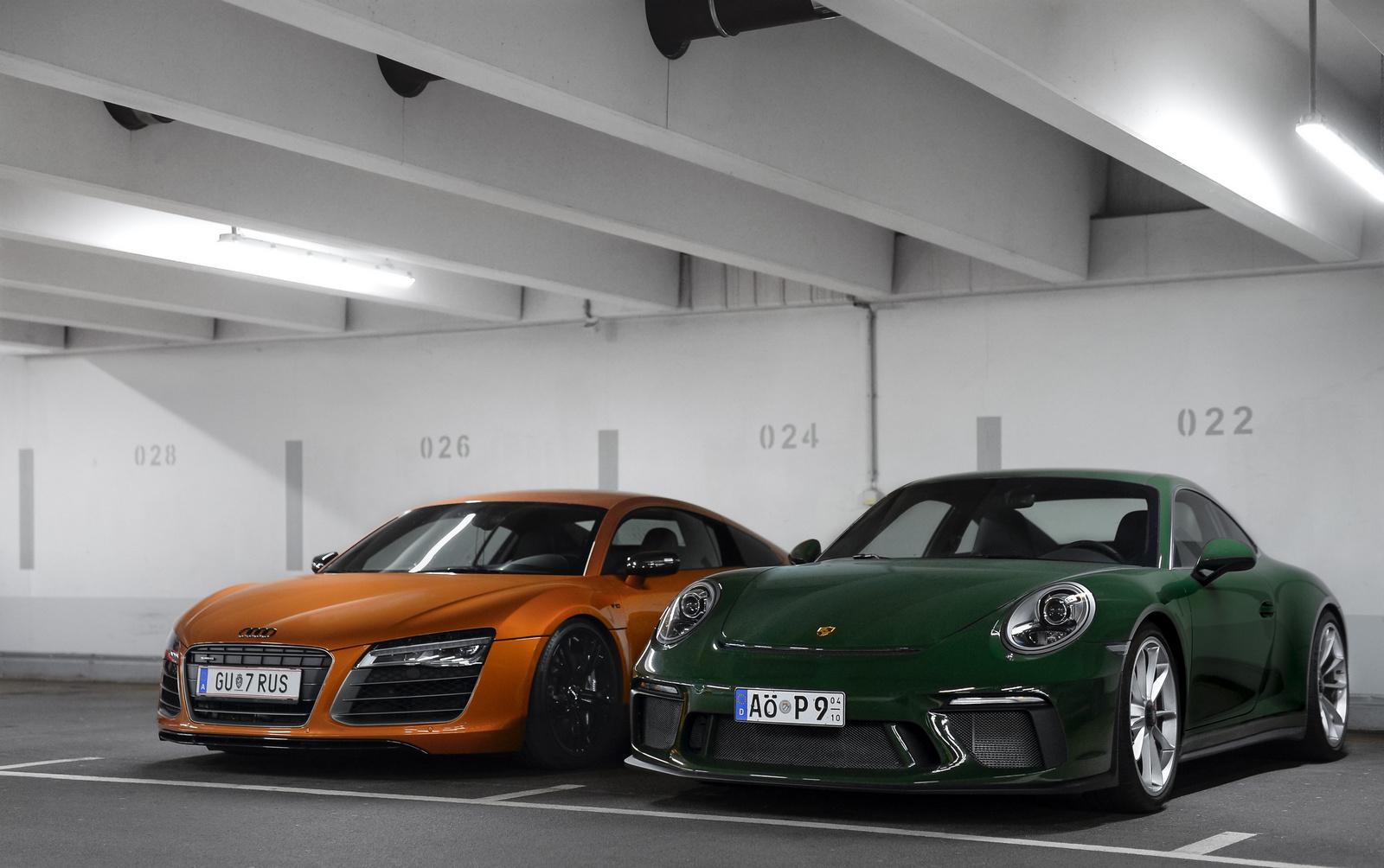 Audi R8 V10 - Porsche 911 GT3 Touring