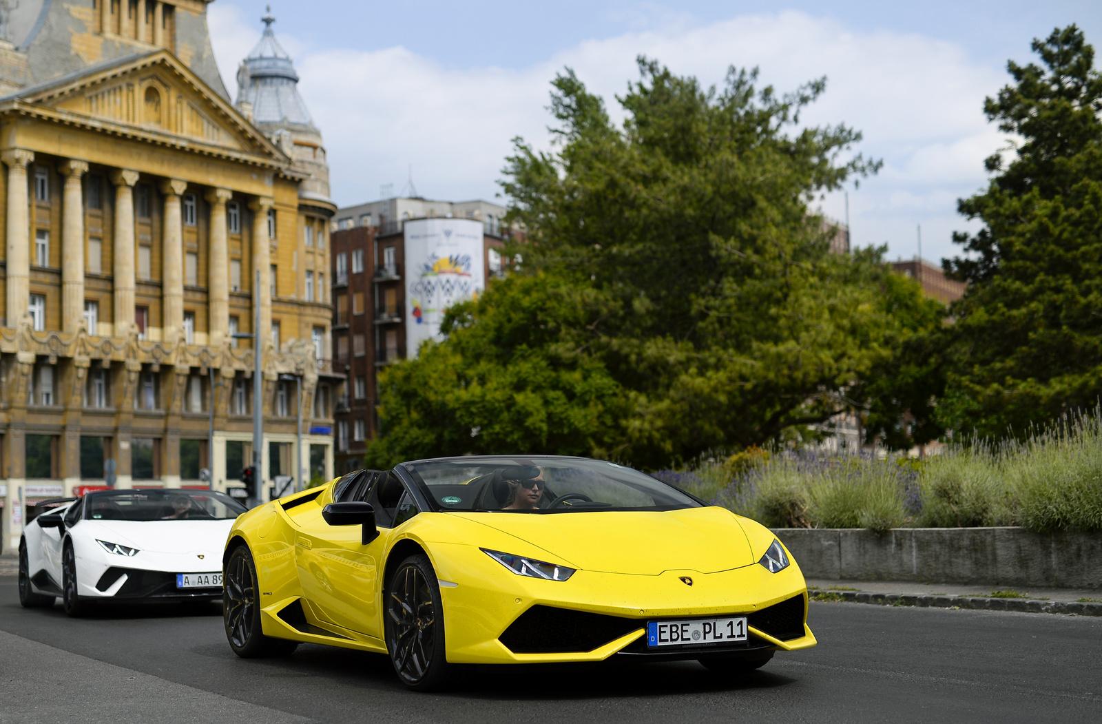 Lamborghini Huracán combo