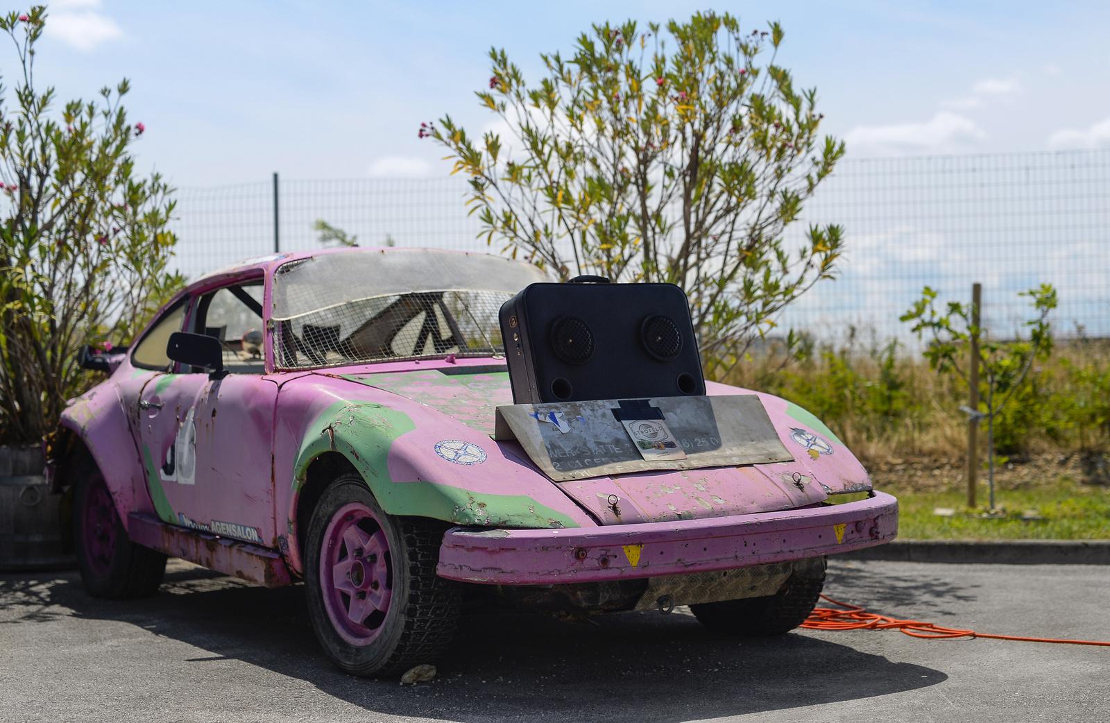 Porsche 911 rallycross