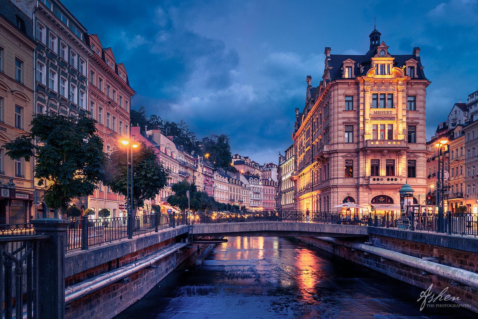 a night in Karlovy Vary