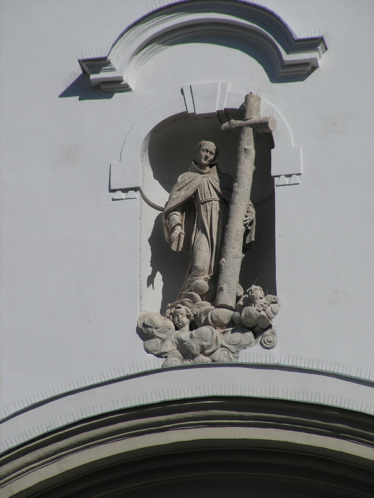 Budapest, Ferenciek tere, Alkantarai Szent Péter templom (Pesti