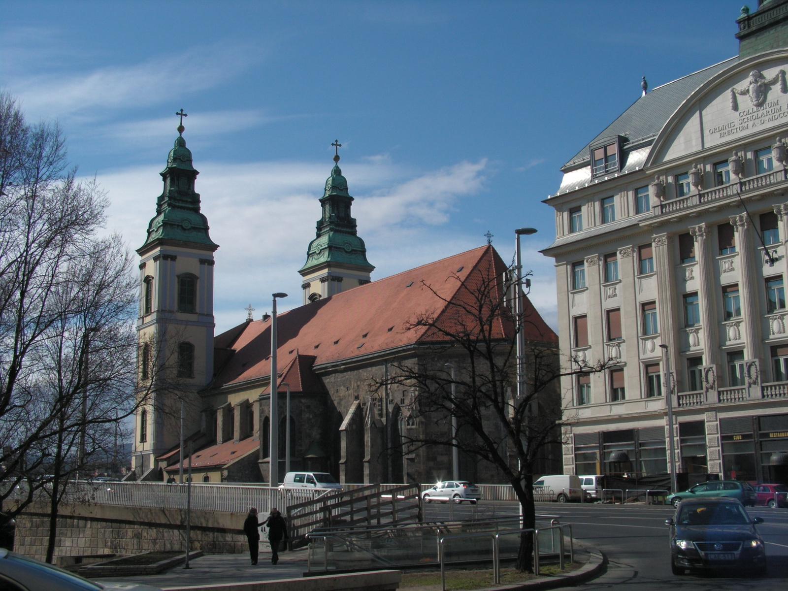 Budapest, a Belvárosi templom, SzG3