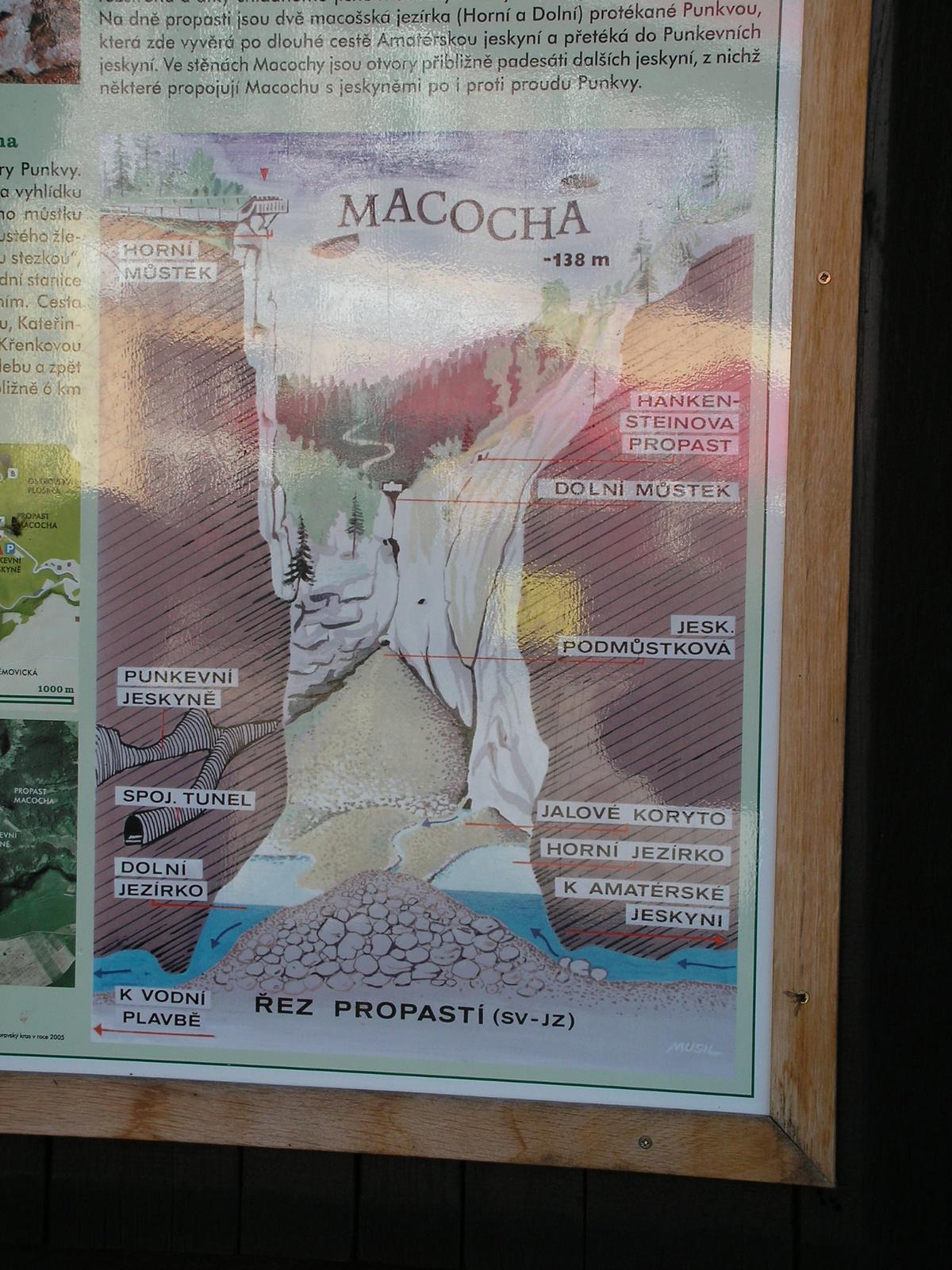 Csehország, Morva karszt, Macocha, SzG3