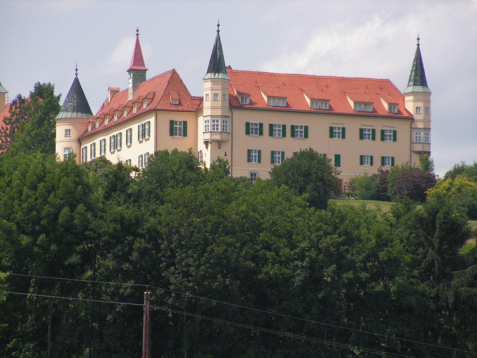 Ausztria, Grác, Schloß St. Martin, SzG3