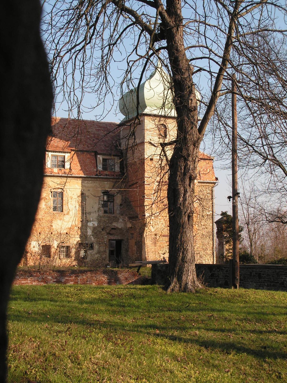 Jánosháza, az Erdődy-Choron kastély, SzG3