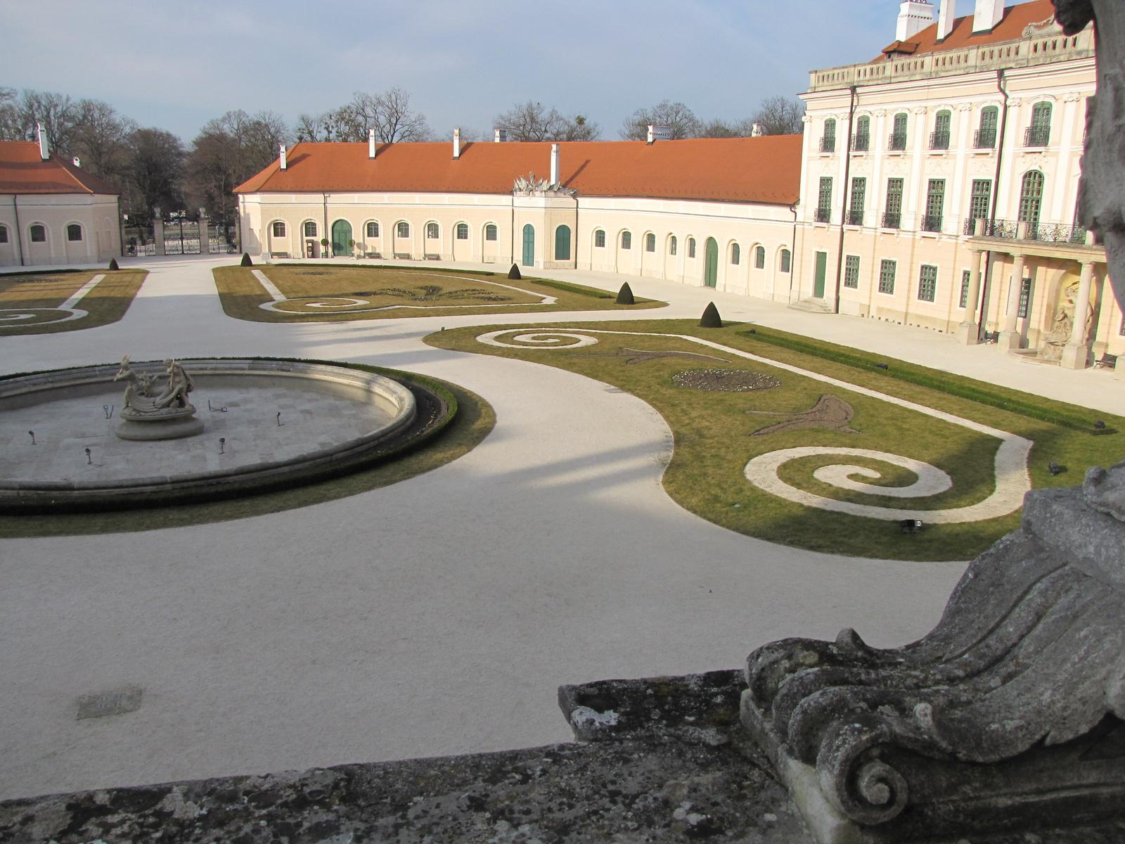 Fertőd, az Esterházy kastély, SzG3