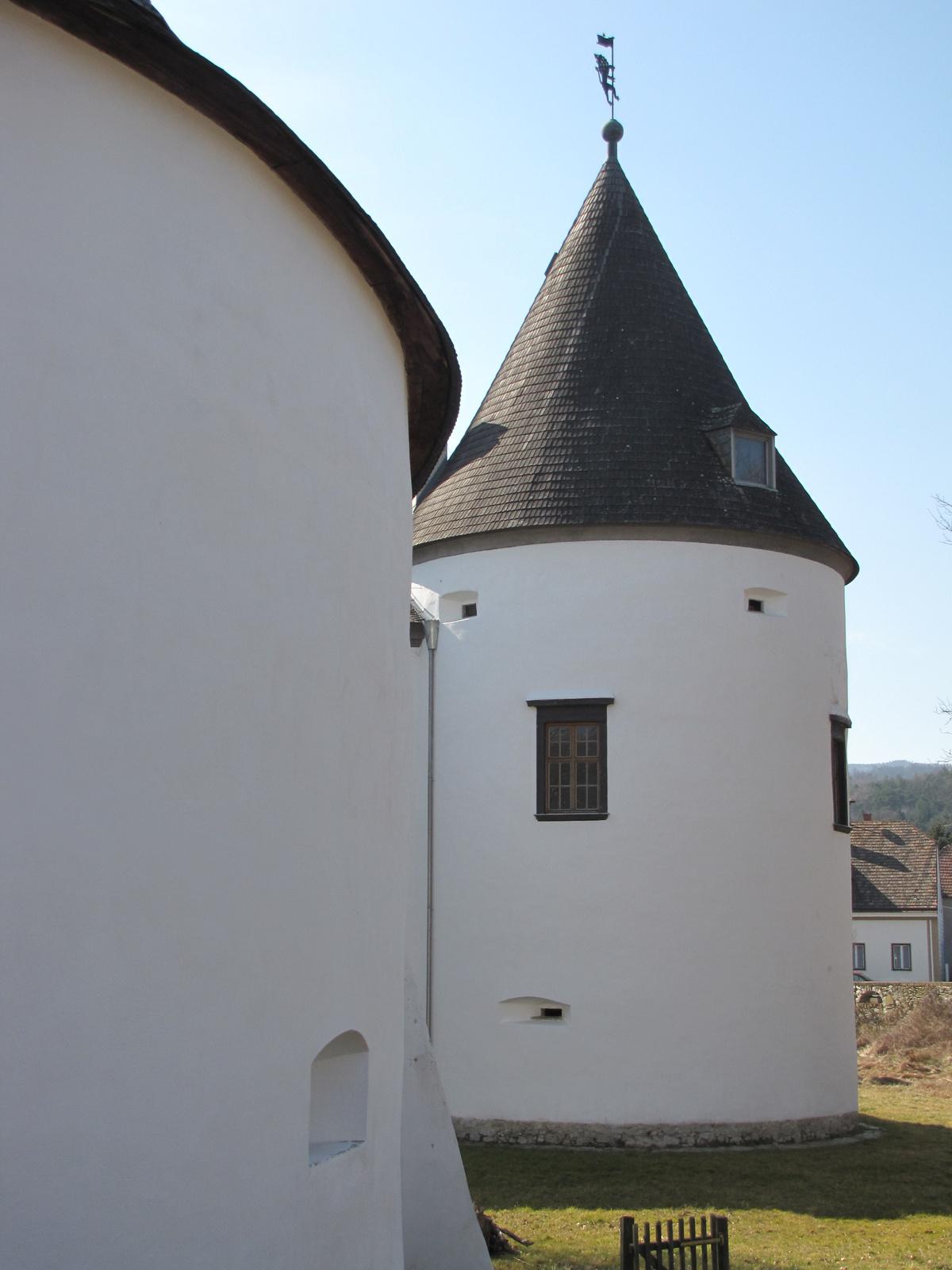 Kobersdorf (Kabold), a vár, SzG3