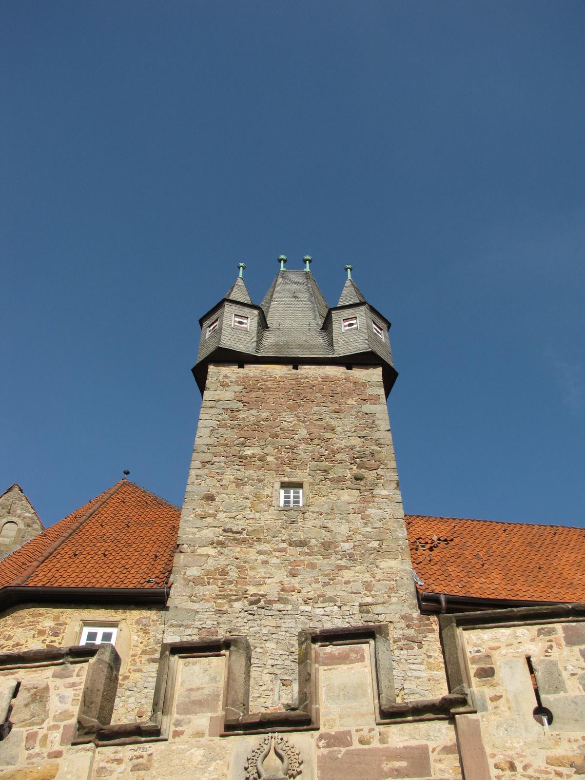 Németország, Spangenberg, a kastély, SzG3