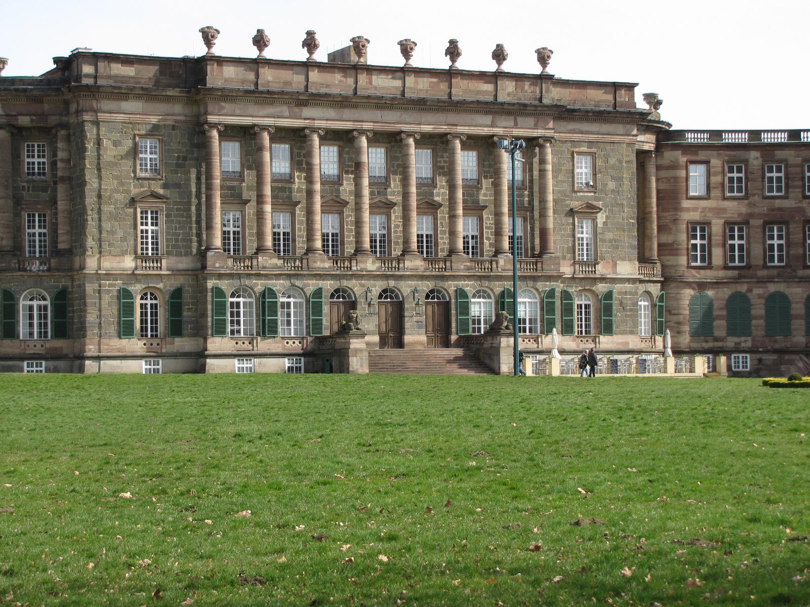 Kassel, Bergpark Wilhelmshöhe, Schloß Wilhelmshöhe, SzG3