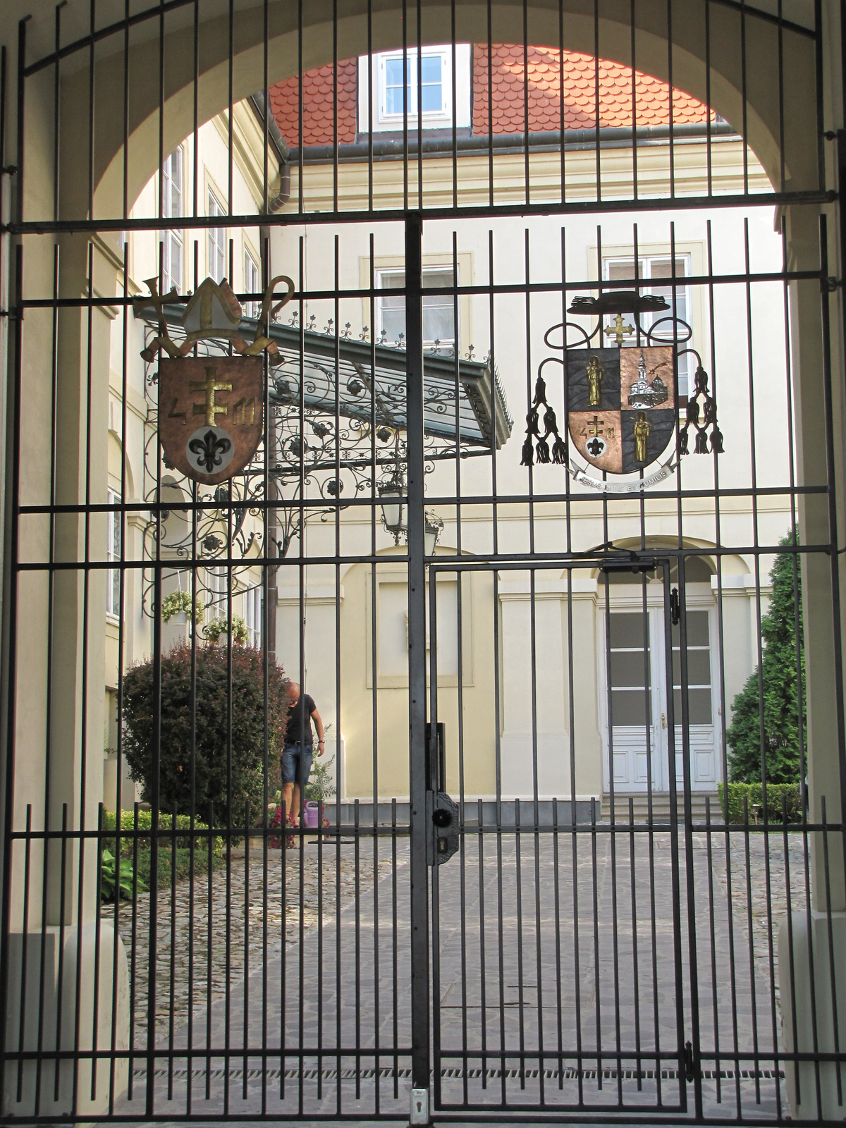 Nyitra, a vár, SzG3