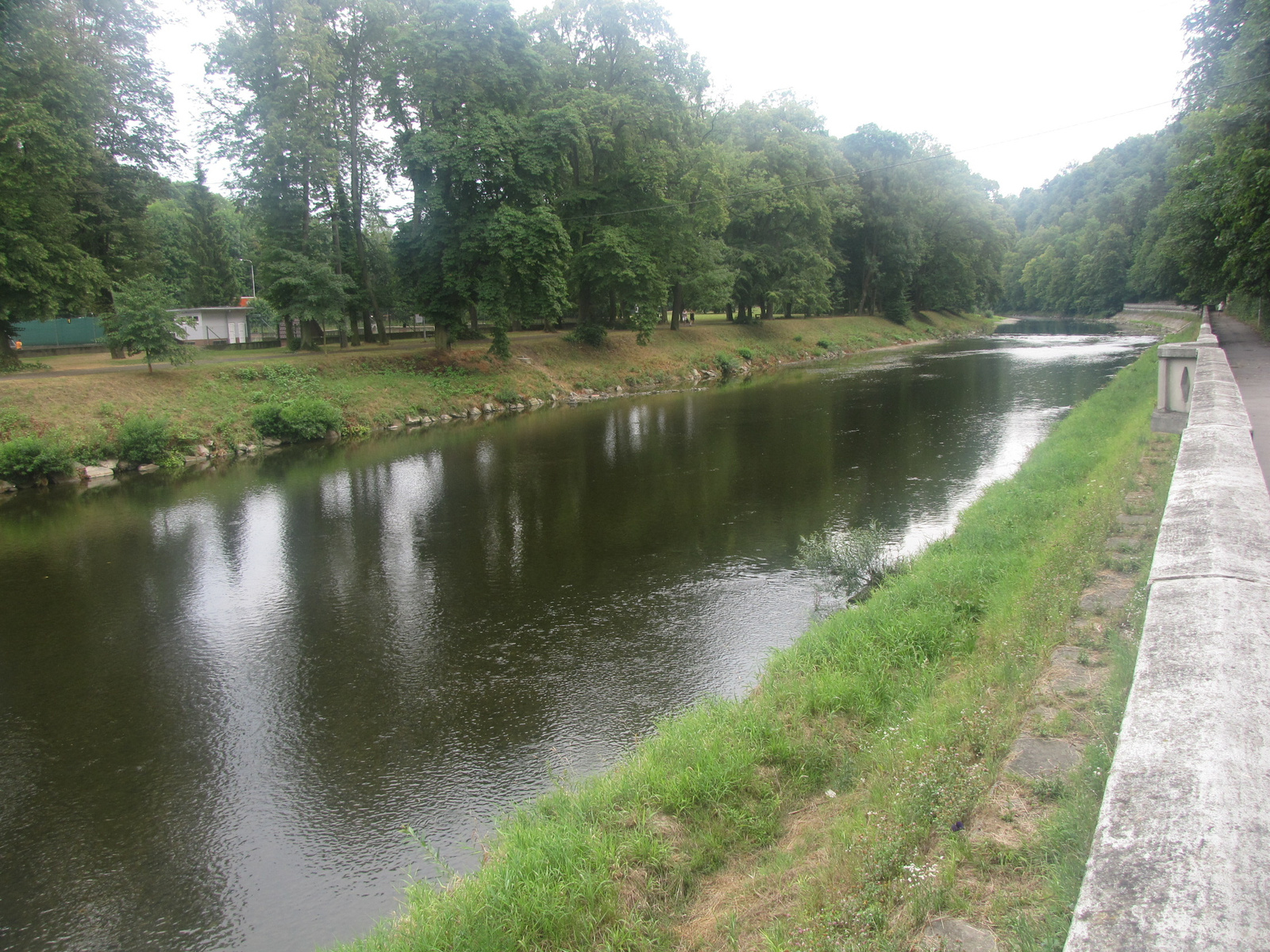 Teplice nad Bečvou, a Bečva folyó, SzG3