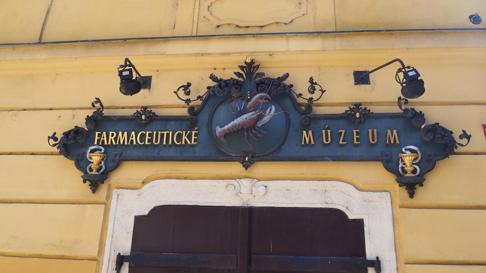 Pozsony, Patika múzeum, SzG3