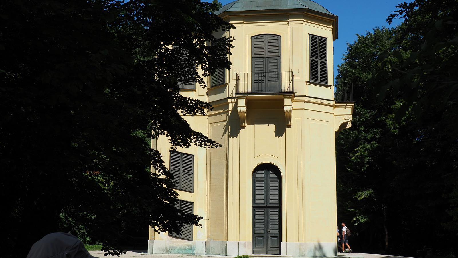 Bécs, Schönbrunn, kastélypark, Kleine Gloriette, SzG3