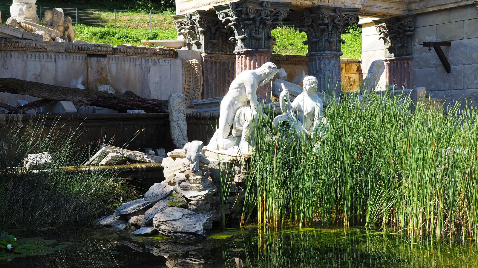 Bécs, Schönbrunn, kastélypark, Römische Ruine, SzG3