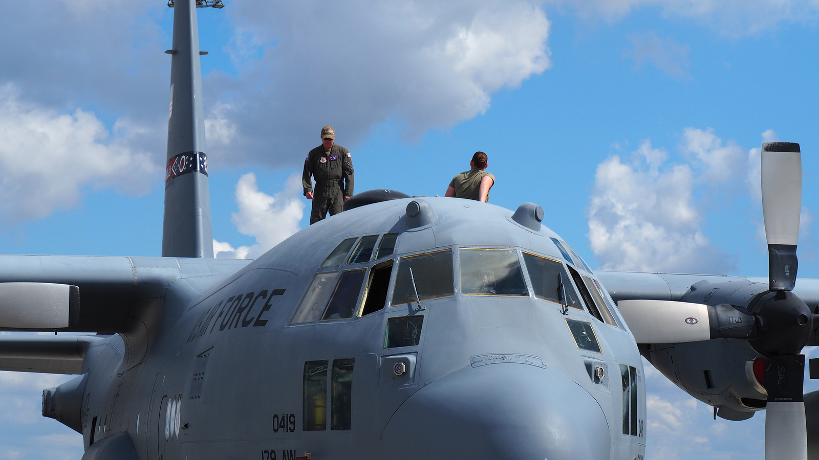 Ohio Air Guard C-130 (Spirit of Mansfield), SzG3