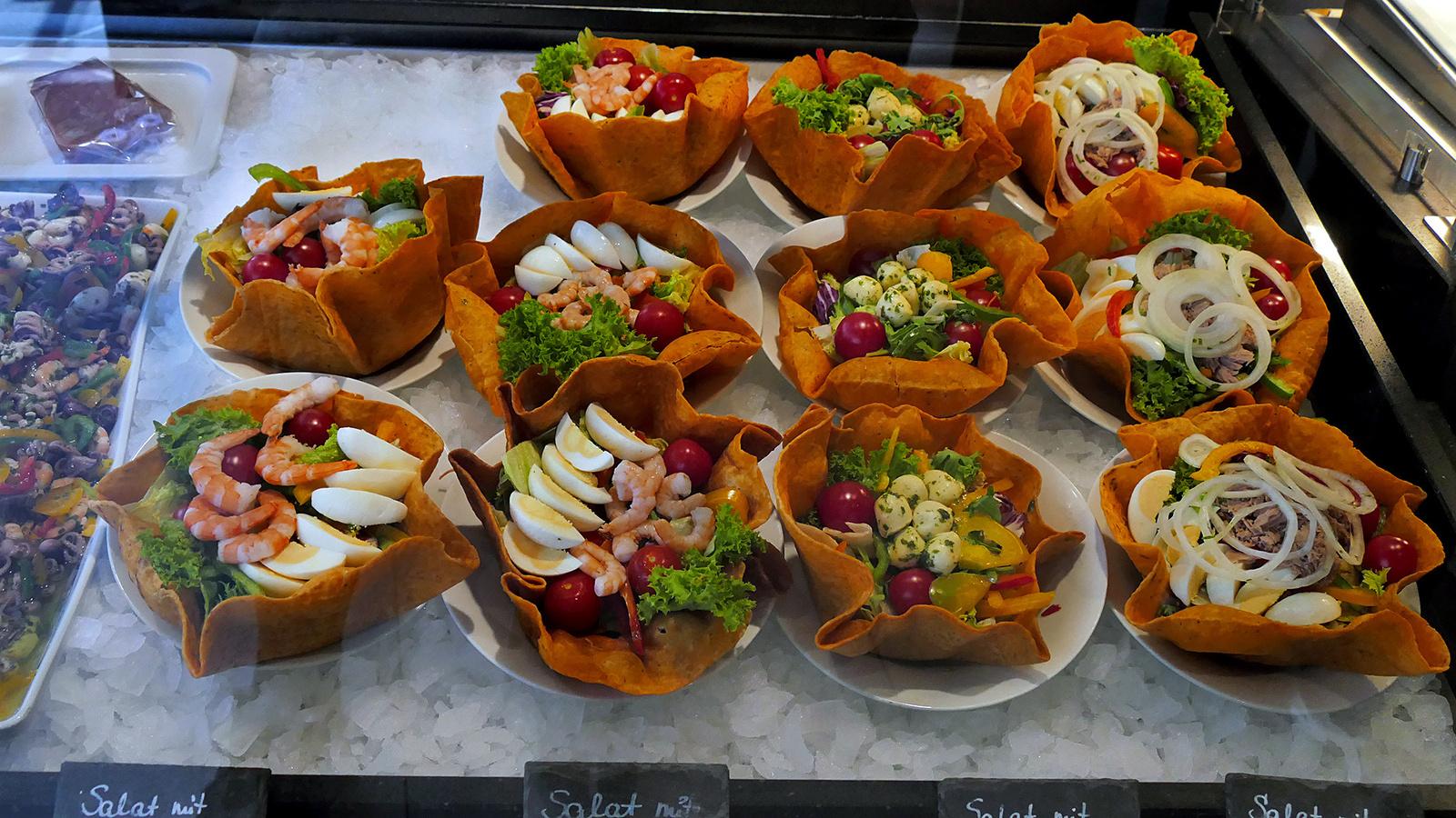 Bécs - Nordsee saláták