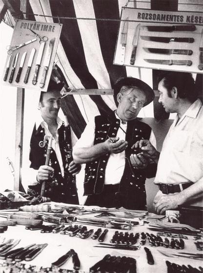 Kesportal: Polyák Imre a hídi vásárban, 1980 560