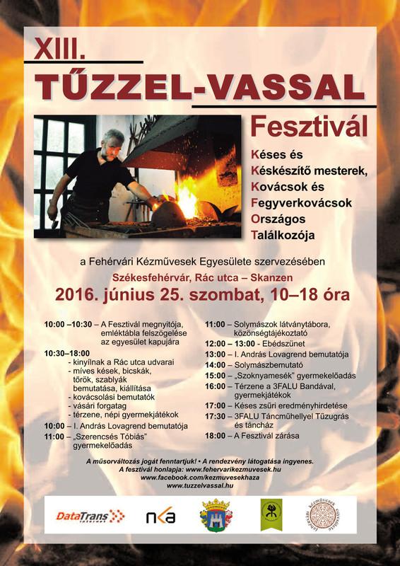 Kesportal: tuzzel-vassal-plakat-2016 - indafoto.hu