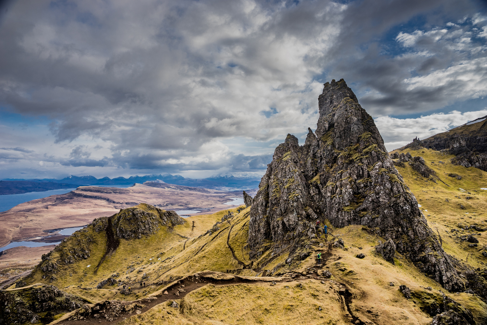 The Old Man of Storr környéke
