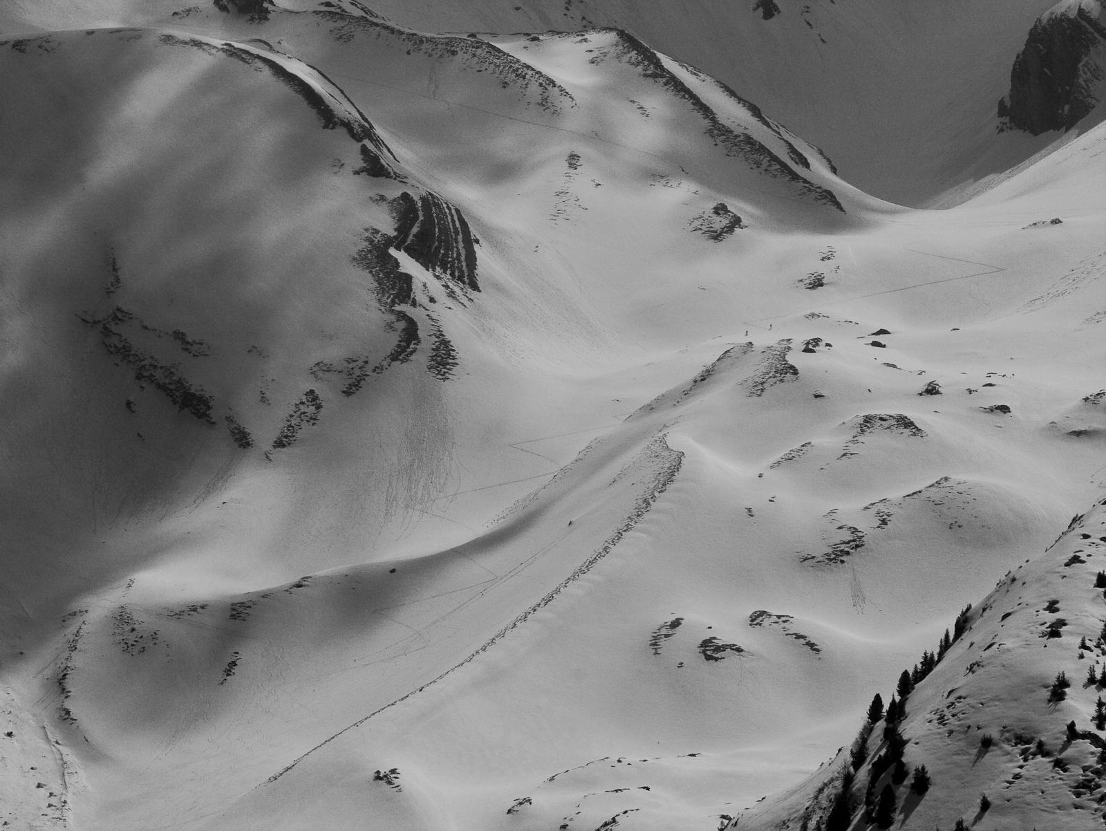 Két hegymászó a hóban