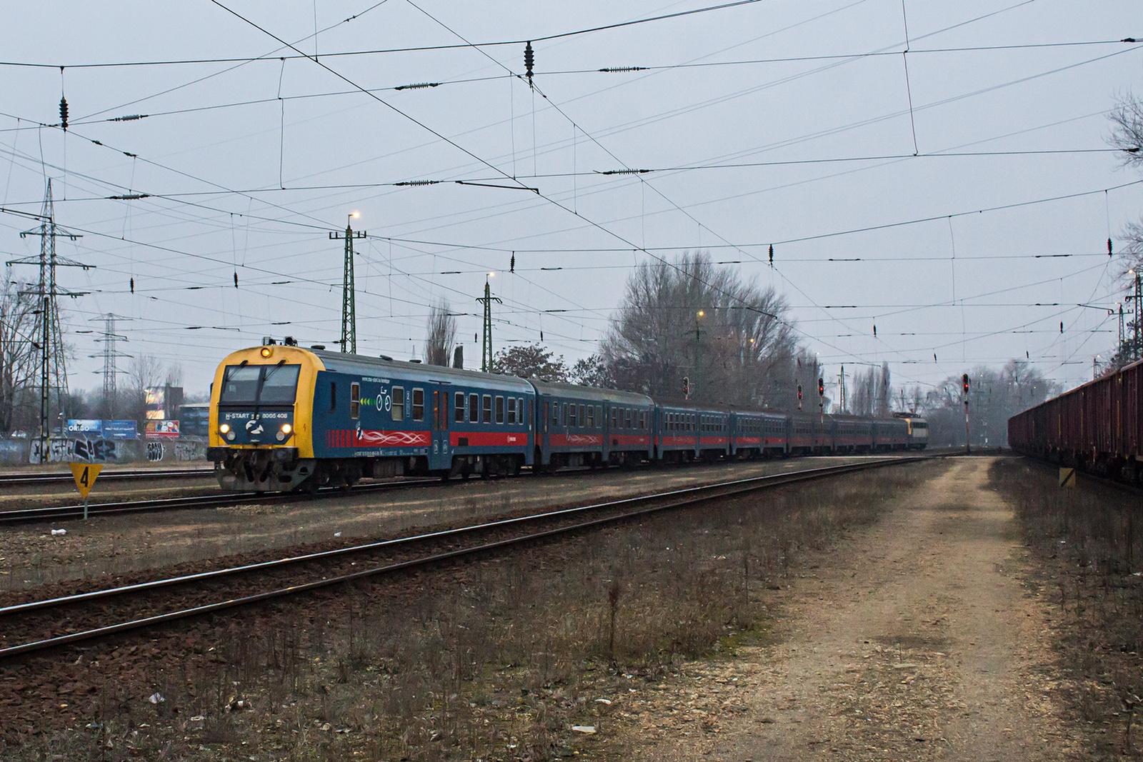 8005 408 Kőbánya-Kispest (2021.02.02)