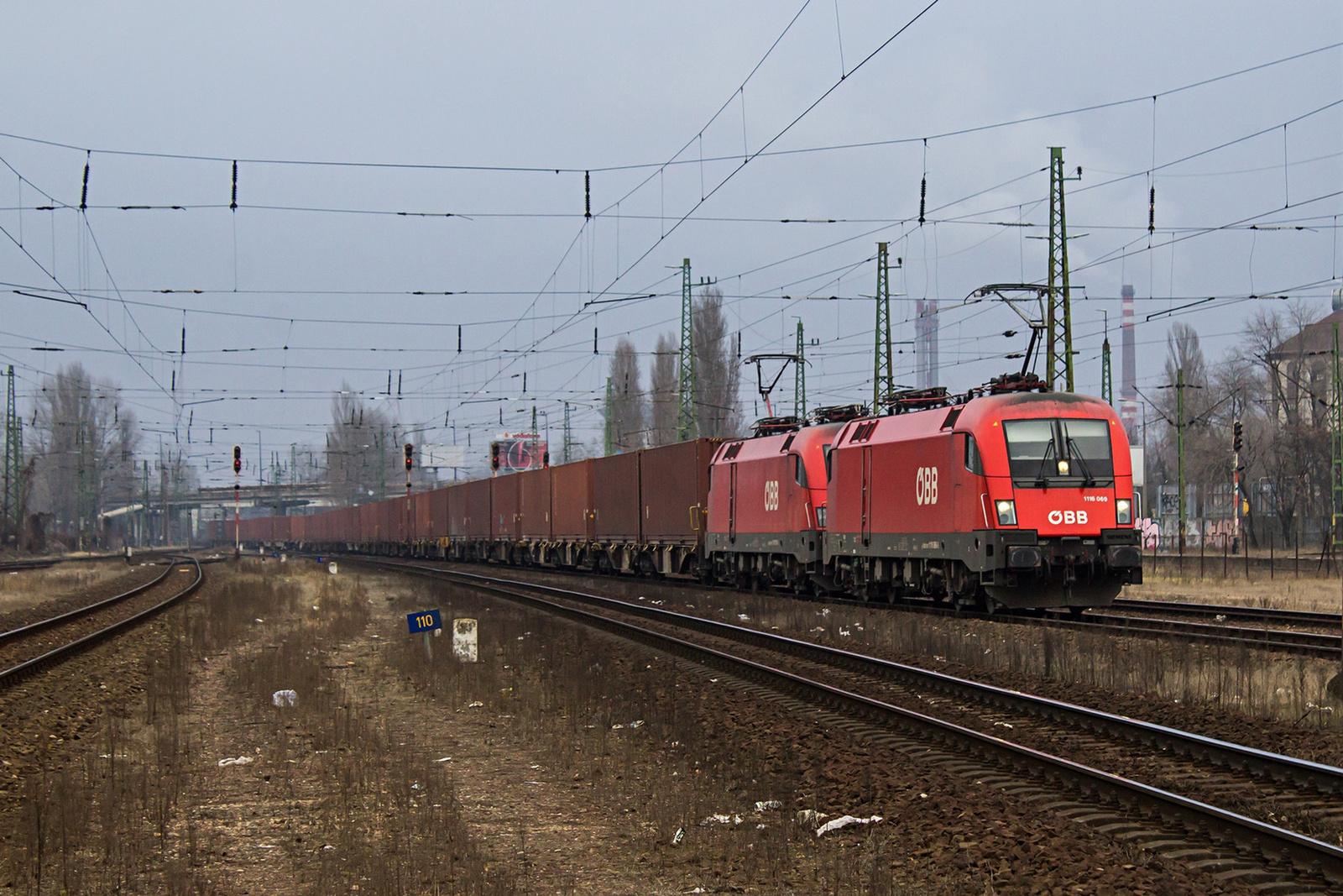 1116 069+110 Kőbánya-Kispest (2021.02.02)