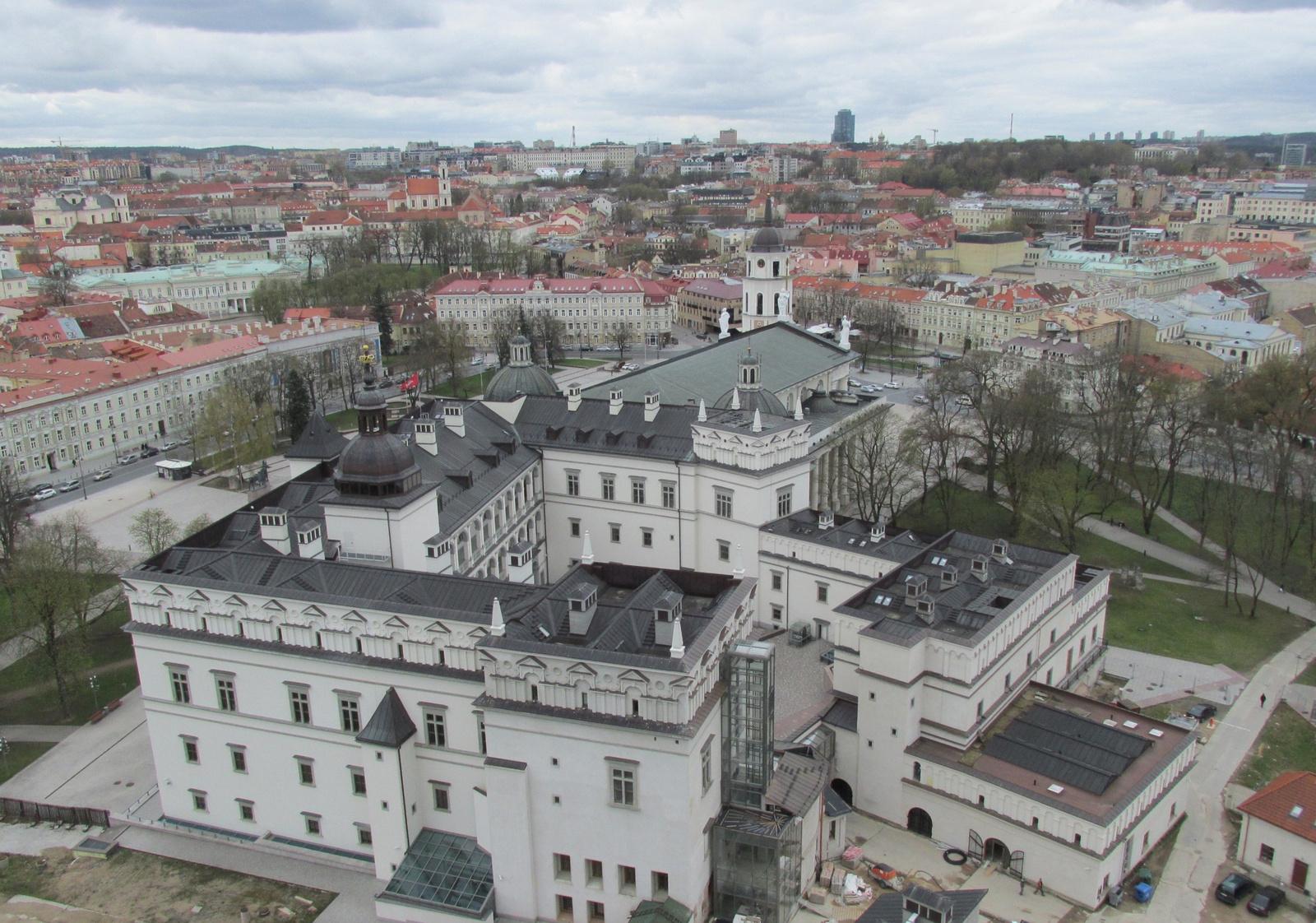 Vilnius madártávlatból