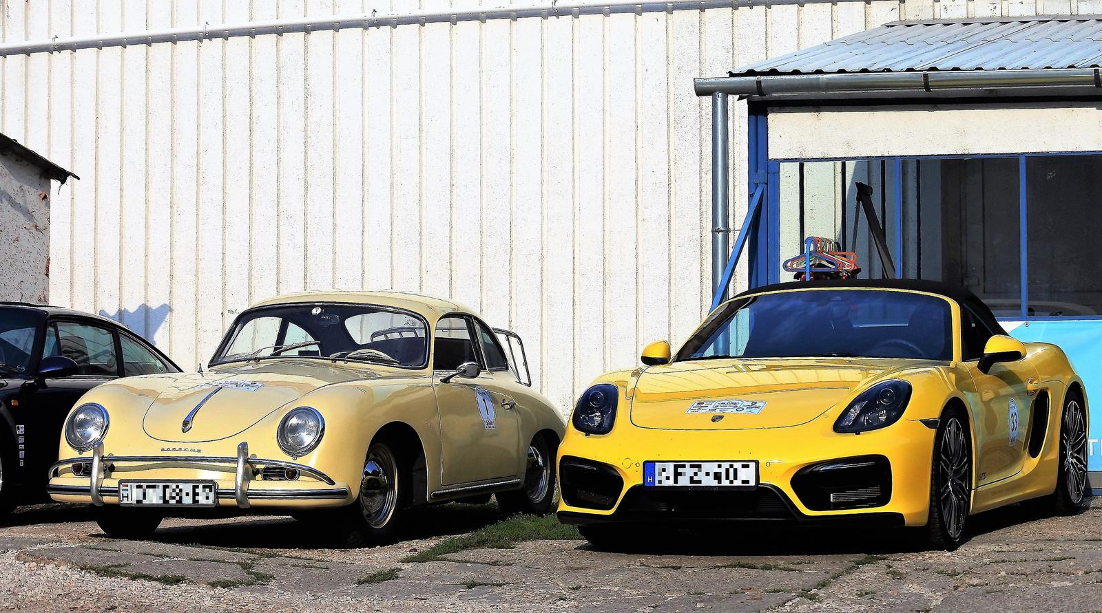 Porsche 356A - Porsche Boxster GTS