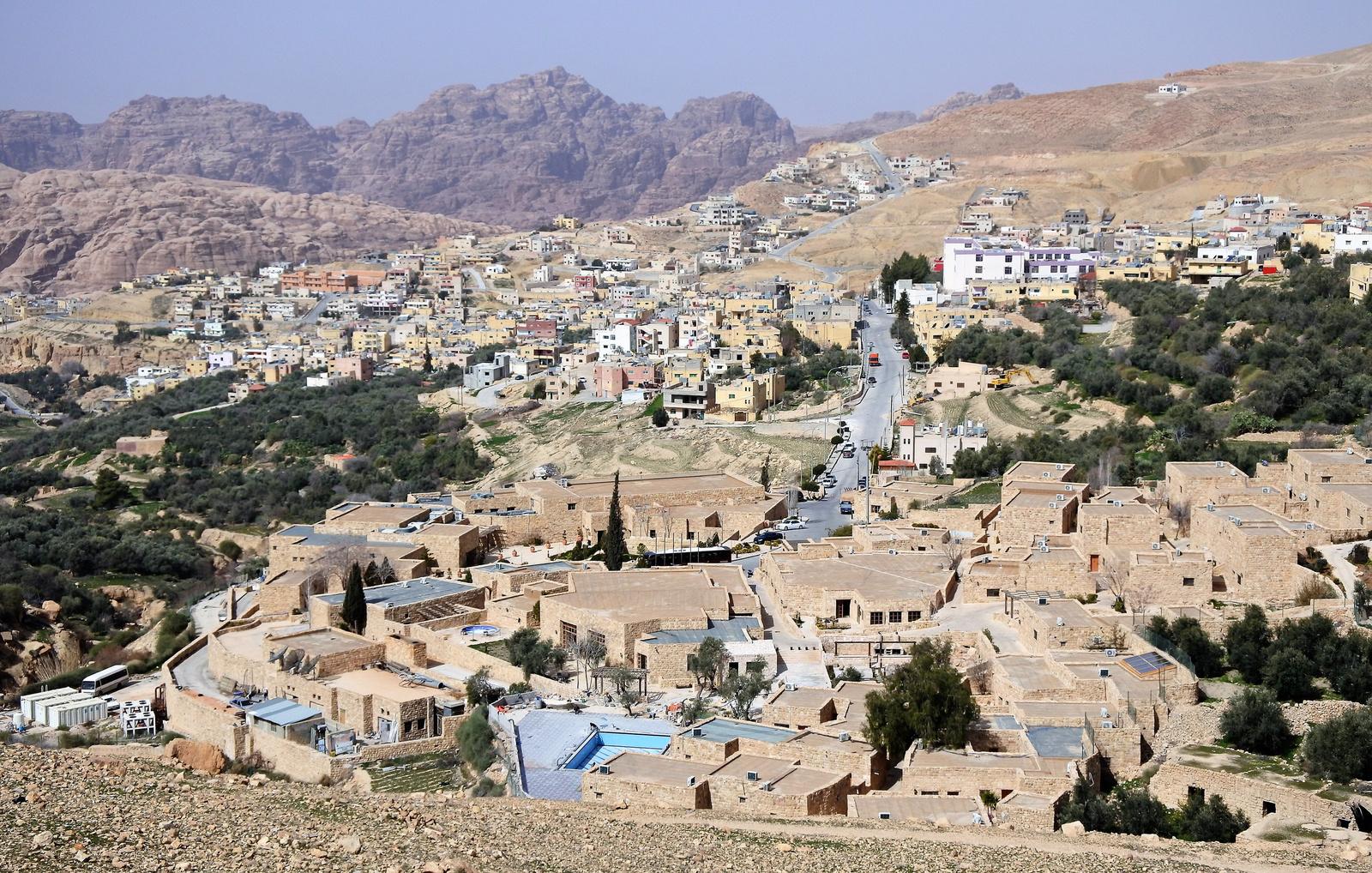 Jordániai táj