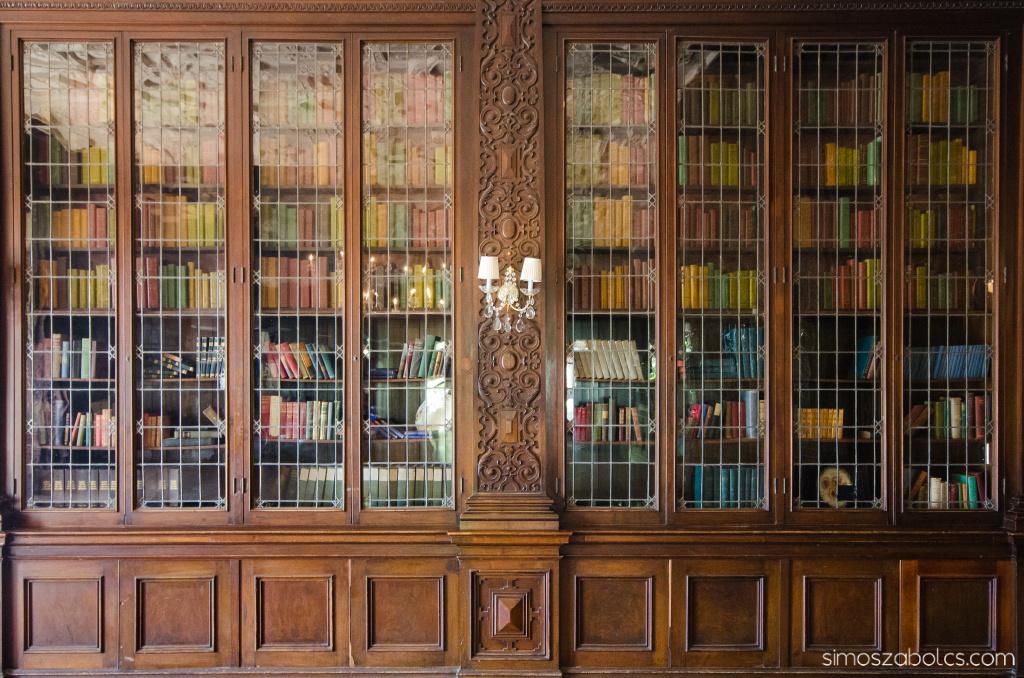 Casa Loma - könyvtár