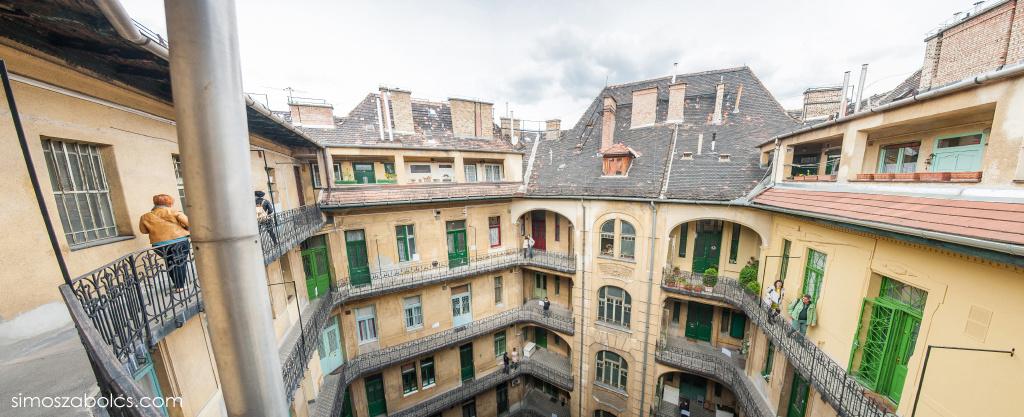 Budapest 100 - Hadik-ház panorama