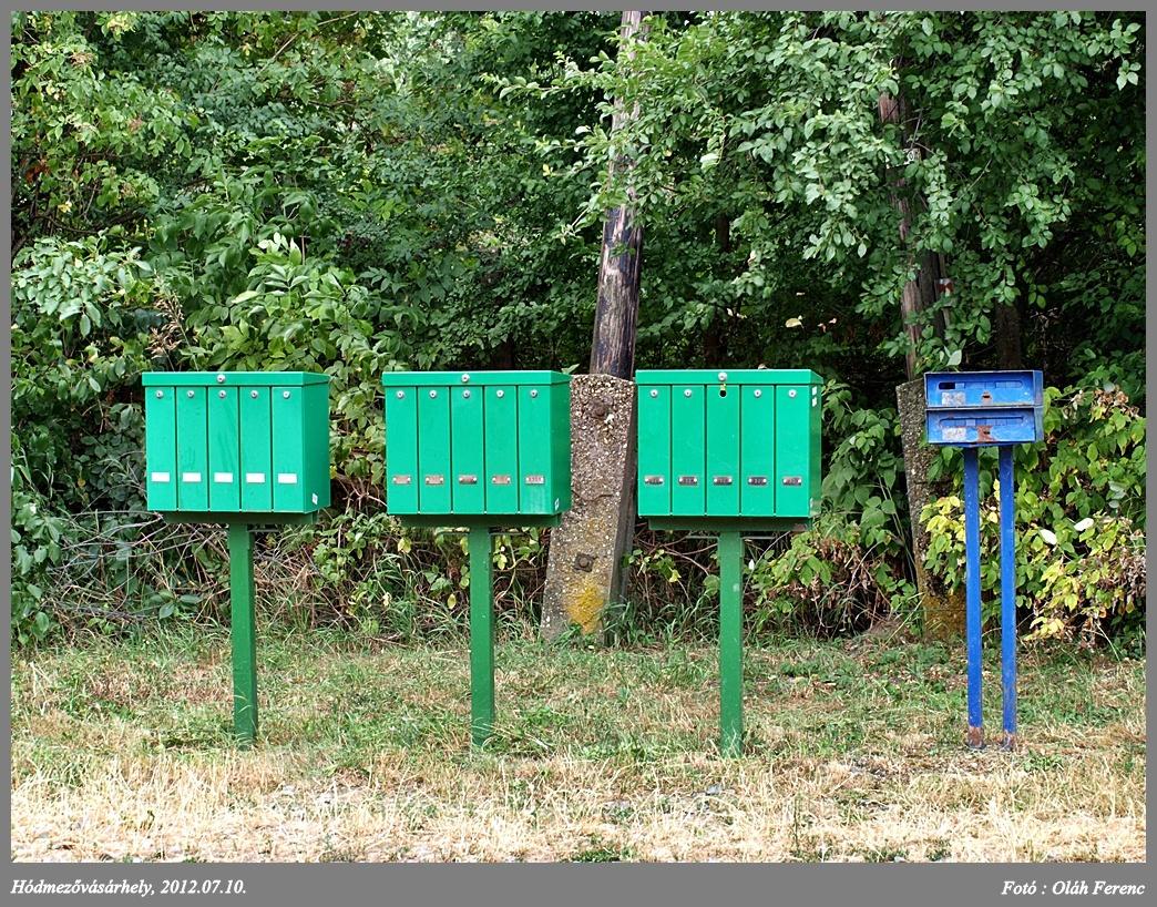 Tanyai postaládák