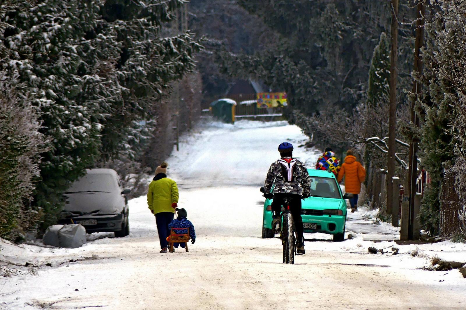 18 Téli közlekedés