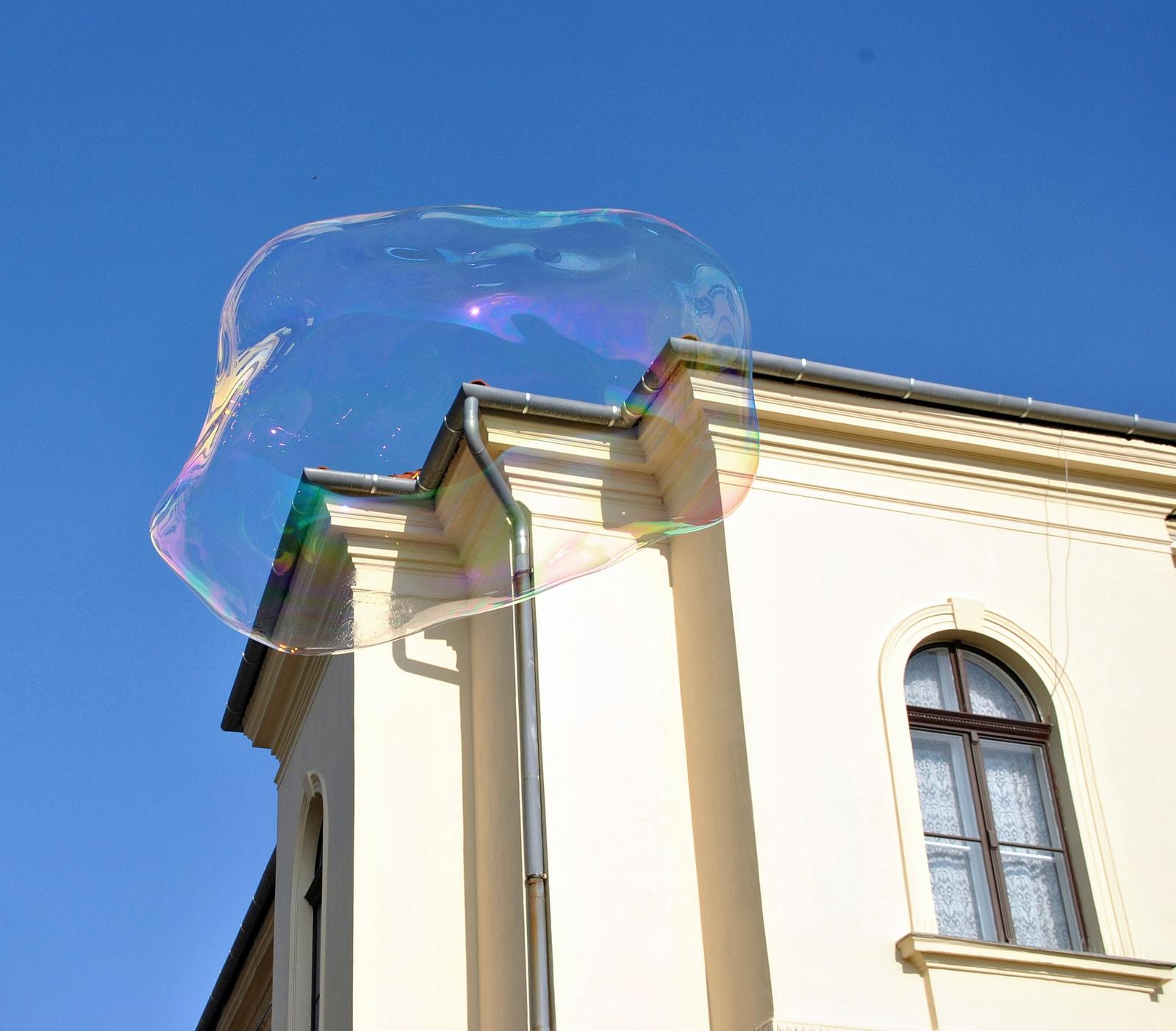 Ereszcsatorna buborék