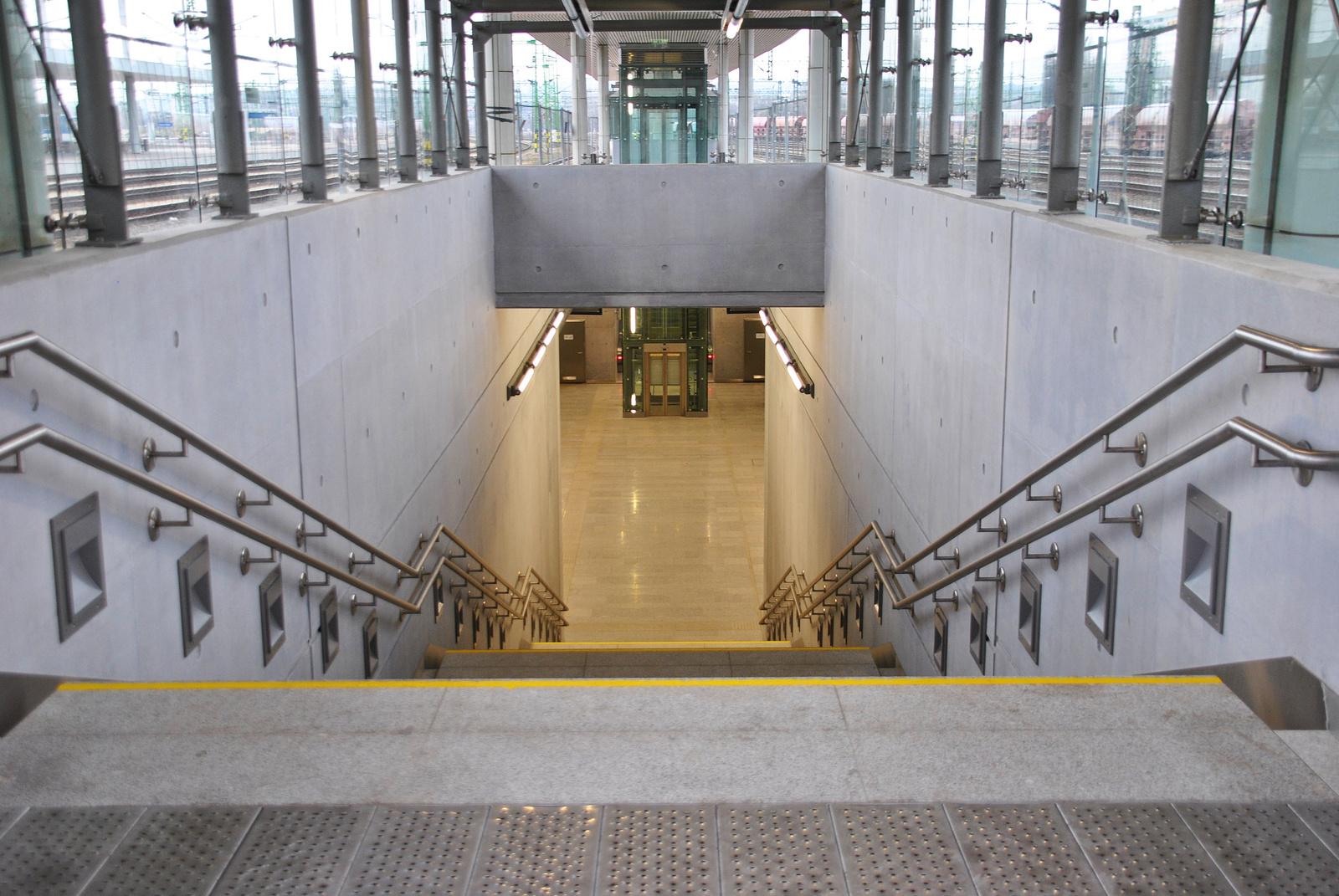 Kelenföldi peronon