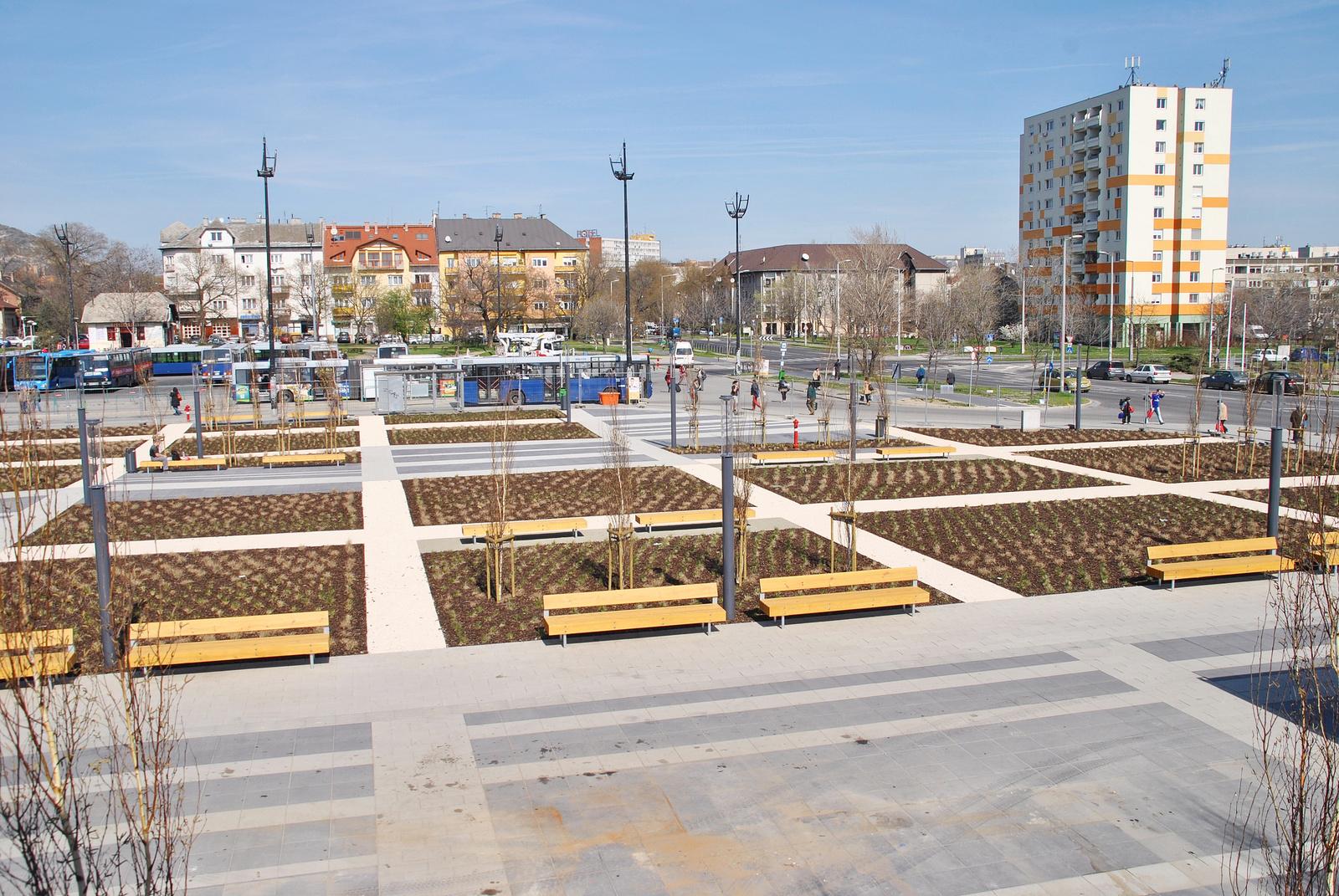 Etele tér, 2014. március