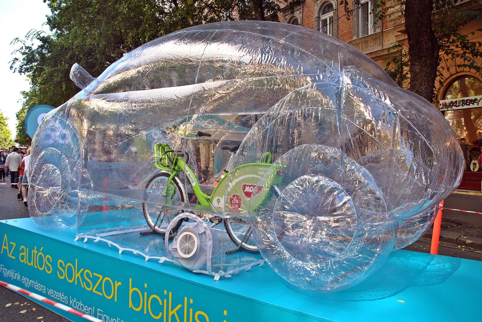 """""""Az autós sokszor biciklis is!"""""""
