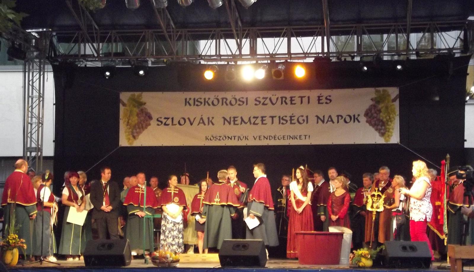 Szüreti és Szlovák Napok