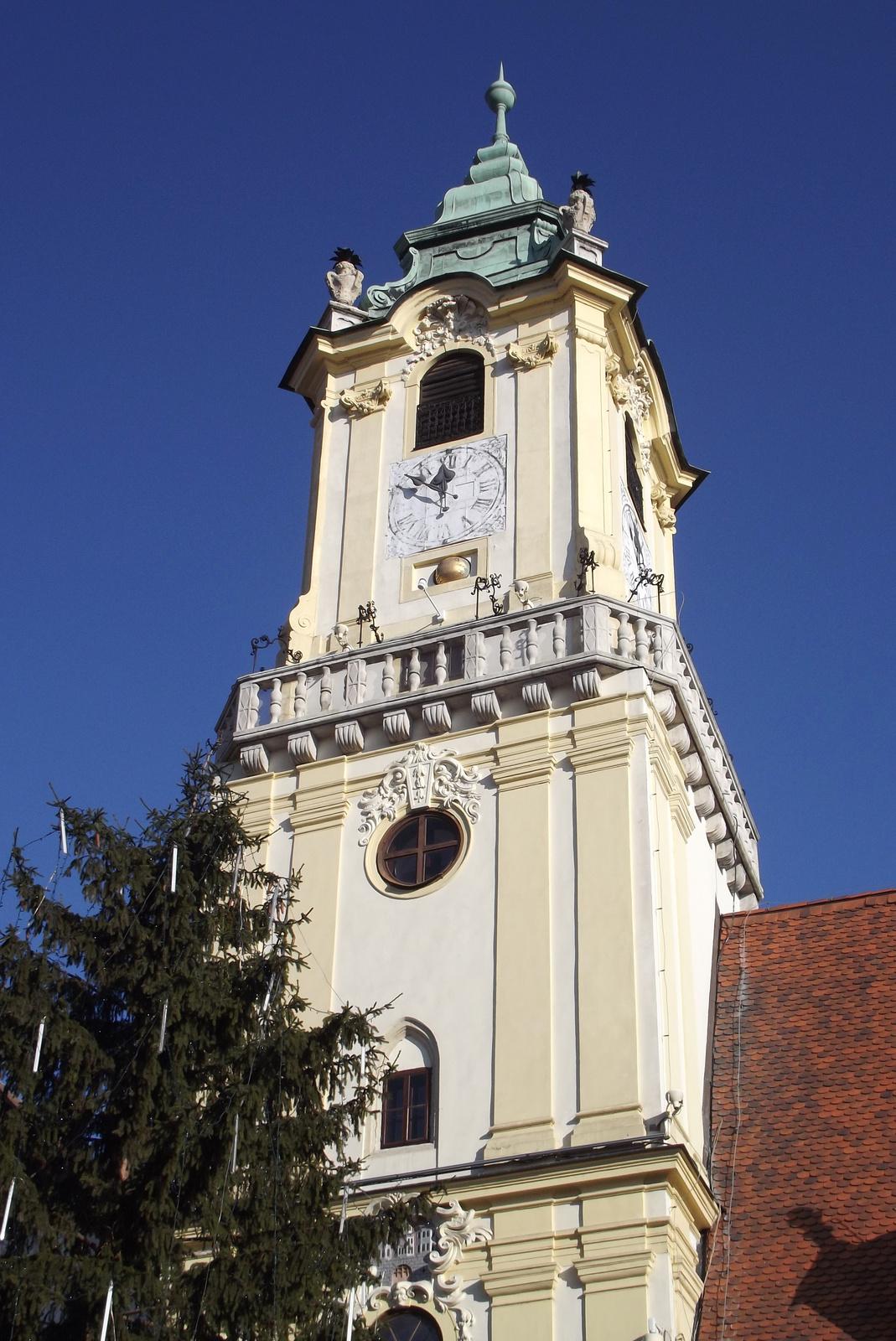 A Régi Városháza tornya