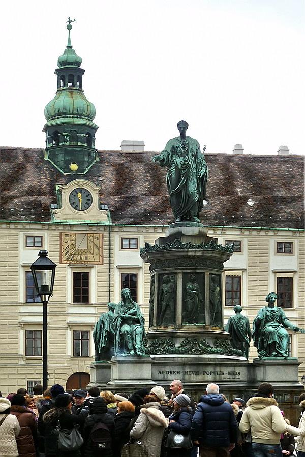 Hofburg - belső udvar